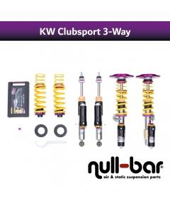KW Gewindefahrwerk Clubsport 3-way inkl. Stützlager