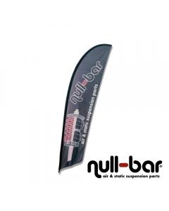 null-bar Beachflag