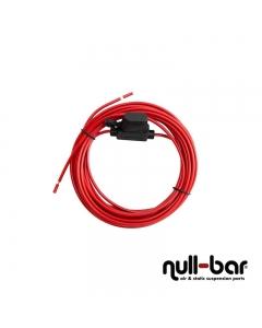Kabel mit integriertem Sicherungshalter